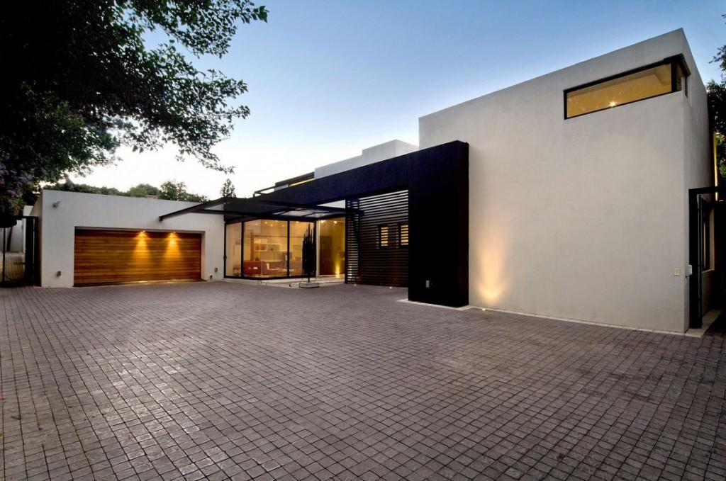 luxusní bydlení v Africe