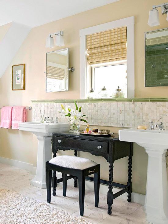 interiérové doplňky v koupelně