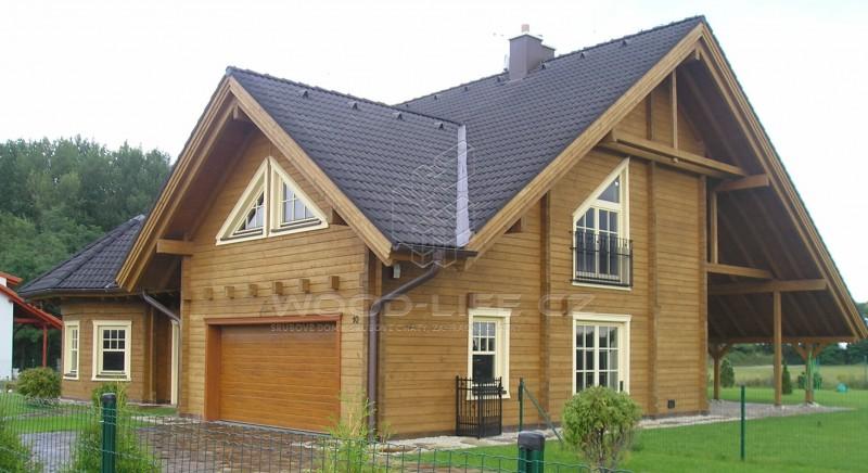 roubené domy