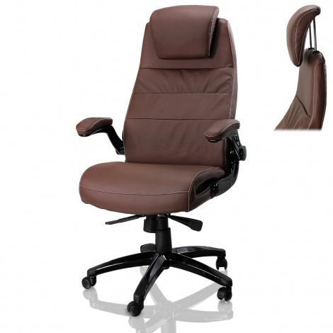 kancelarske-zidle-deluxe-hneda-7247