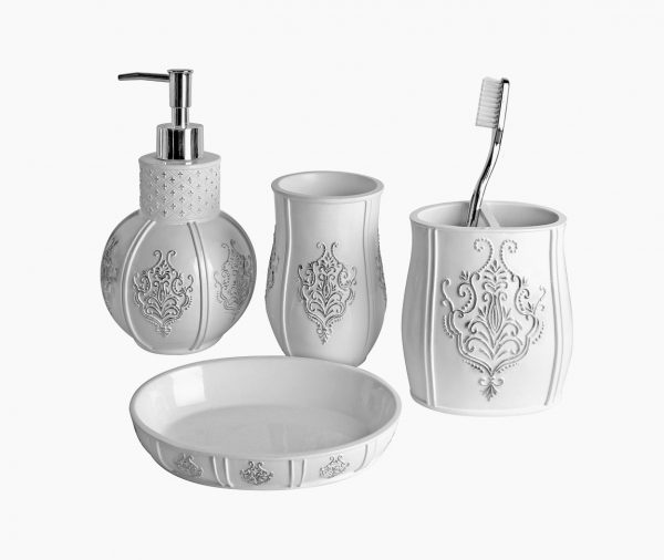 white-four-piece-soap-and-lotion-dispenser-set-600x506
