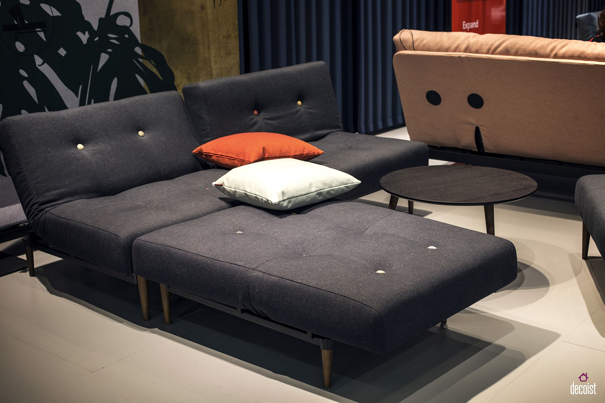 Dark-bluish-gray-sectional-and-daybed-for-the-living-room